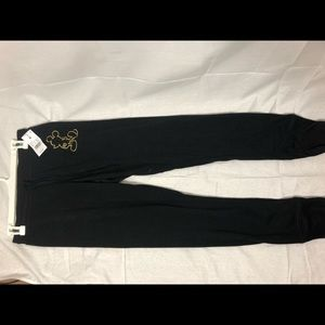 Mickey Mouse joggers NWT SZ M